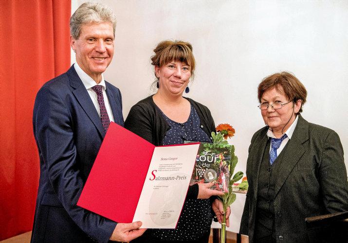 Auszeichnung mit Salzmann-Preis