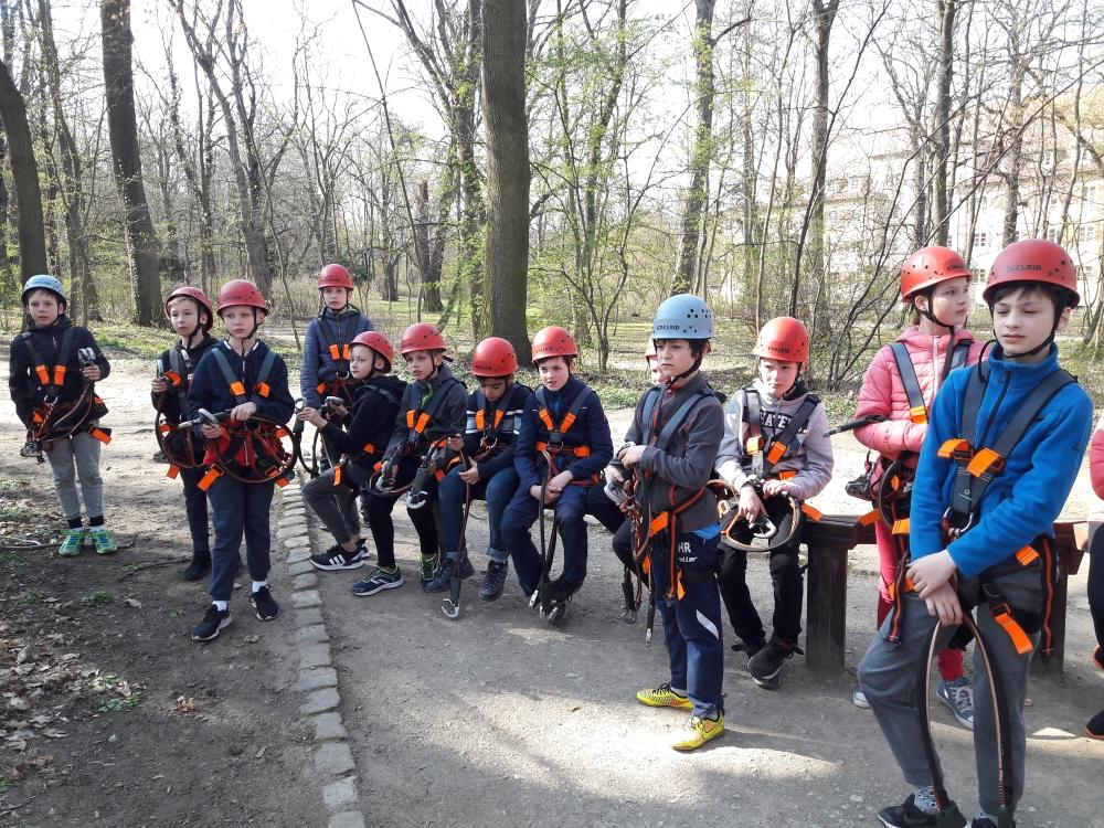 Klasse 5g1 zur Klassenfahrt im Euroville Naumburg.