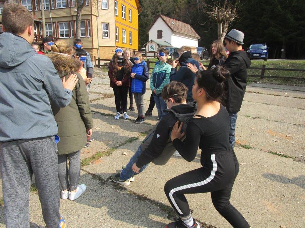Bildungsreise der Klasse 7g1 nach Schierke am Brocken