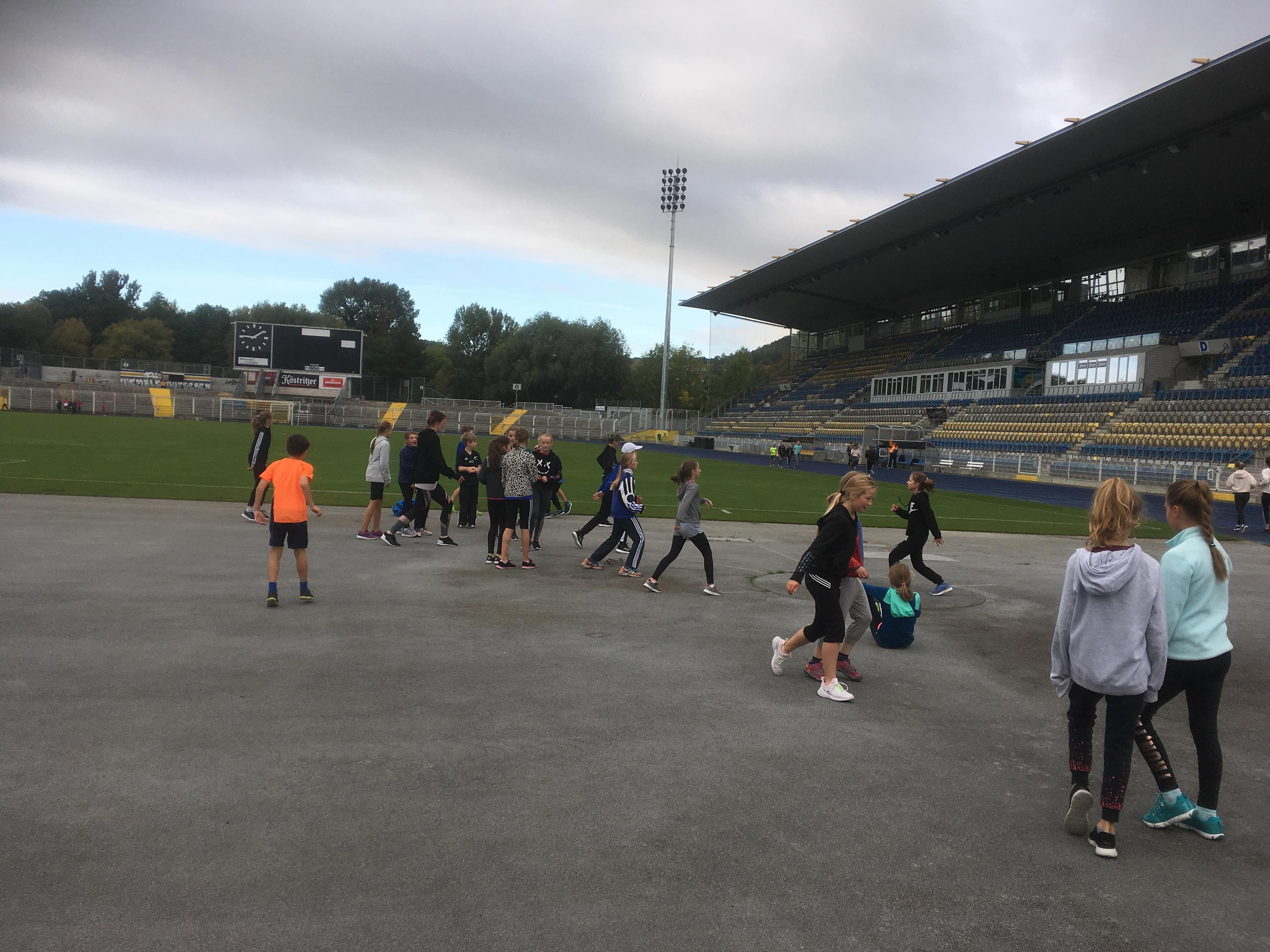 Sportfest am 26.09.2019 im Ernst-Abbe-Sportfeld
